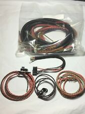 Harley Panhead 1949-53 Wiring Harness W/ Wired Lamp Harnesses & Switches USA