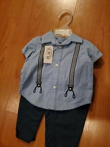 NWT Baby Boy Size 3-6 months GAP Shirt And Pants Originally $35