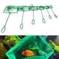 "1PC Aquarium Fish Tank Square Shrimp Small Betta Tetra Fish Net 3""-10"" 6 Sizes"
