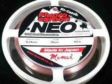 Momoi Hi-Catch NEO Pink 60lb  Flurocarbon Leader fluro carbon made in japan