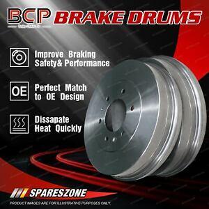 Rear Brake Drums Pair for Hyundai Getz TB 1.5L 5/02-8/05 Genuine Performance