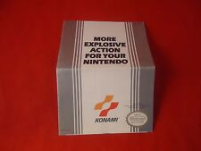 Konami NES More Explosive Action for Your Nintendo Foldable Promo Insert ONLY