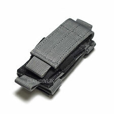 SMALL TACTICAL MOLLE 1000D NYLON CASE SHEATH FOR MULTI TOOLS KNIVES  FLASHLIGHT