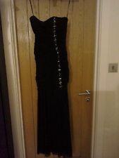 NWT Forever Unique Black evening dress size 12