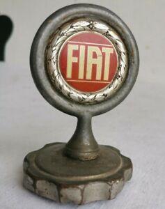 FIAT Mascotte Automobile Ancienne BOUCHON Radiateur Automobilia Voiture Art 17