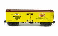 MTH 20-94368 Fairmont Creamery 36' Woodsided Reefer Car O Scale Trains