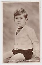 HRH Prince Charles Duke Of Cornwall RPPC Real Photo Postcard by Marcus Adams