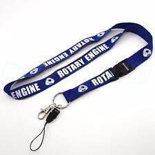 BLUE ROTARY ENGINE LANYARD MAZDA RX7 RX8 WANKEL 12A 13B 20B TURBO FB FC FD