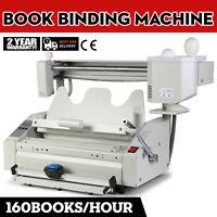Macchina Rilegatrice per Libri con Colla a Caldo Melt Glue Book Binder Machine