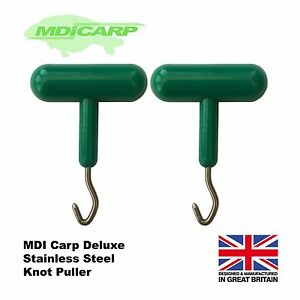 MDI Carp Deluxe Knot Puller, All Styles of Fishing (Saltwater proof) Pack of 2