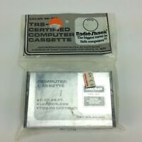 Tandy Radio Shack TRS 80 Cassette Certified Computer Unopened New Old Stock