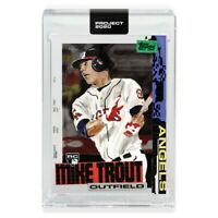 Topps PROJECT 2020 Card 85 - 2011 Mike Trout by Jacob Rochester Presale 5-25 **