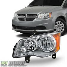 2011-2017 Dodge Grand Caravan 08-16 Town & Country Halogen Headlight Driver Side
