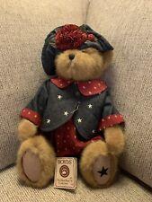 """Boyd Bear 17/"""" Patriotic Heirloom Series Franklin B Beansley 919846"""