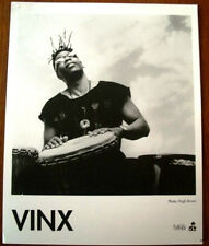 Rare Vinx 8x10 B&W Press Photo I.R.S. Records