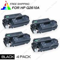 4PK Q2610A 10A Laser Toner Cartridge For HP LaserJet 2300 2300dn 2300dtn Printer