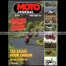 MOTO JOURNAL HS 20 HORS-SERIE ★ SPECIAL ESSAIS ★ 130 Modèles - Edition 1984