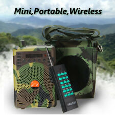 48W Hunting Speaker Bird Caller Predator Sound Caller MP3 Player +Remote Control