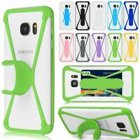 ID Card Kickstand Universel Coque Etui Housse Bumper Silicone TPU Pour Phones