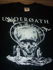 UNDEROATH SKULL  T-Shirt SMALL Hardcore Band NEW