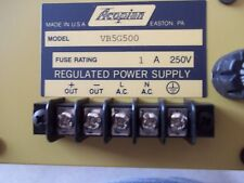 New In Box Acopian Vbg500 Linear Regulated Power Supply W/ Overvolt Protection