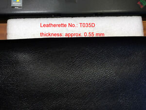 Camera Body Recovering Leatherette T035D-black 250x200x0.55mm