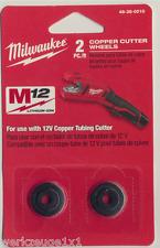 Milwaukee 2 remplacement de coupe roues pour c12 pc Batterie-évasement m12 pc 48380010
