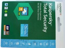 2 minutes processing Kaspersky Total Security 5 devices 6 Months  2018