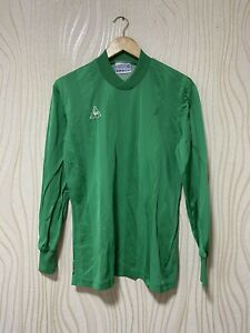 LE COQ SPORTIF 80s FOOTBALL SHIRT SOCCER JERSEY LONG SLEEVE sz  M