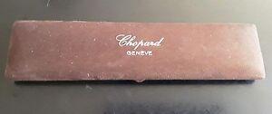 Ancien Boitier Chopard Genève vintage pour montre en bel état