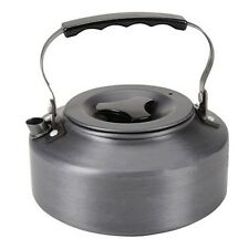1.1L Kettle Picnic Camping Cookware Teapot Water Coffee Pot Aluminum Outdoor Fi