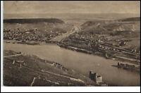 Bingen Rheinland-Pfalz AK 1920 Blick von der Rossel auf Bingen u. Bingerbrück