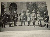 1896 Indischer Kavallerie Queen ´ S Own 1st 9th 11th 18th Bengal ~ Boer War Era