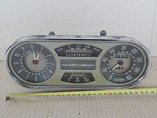 CRUSCOTTO ORIGINALE FIAT 1400 1900 E FUORISERIE 1100 SCALA 160 KMH CON OROLOGIO