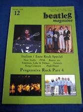 Beatleg Dec/2007 Mag Italian Euro Rock Special New Trolls PFM Banco Emerson Lake