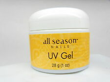 All Season Nails UV Gel  THICK CLEAR  1 oz /28 g artificial nails extensions