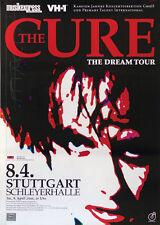 Original Konzertplakat The Cure        8.4.2000  Stuttgart Schleyerhalle