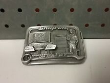 """Snap-On Tools""""Professional technician and proud of it"""" belt buckle."""