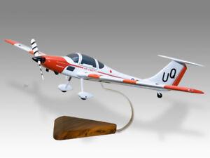 Grob 109b RAF Air Cadets Solid Kiln Dry Wood Replica Airplane Desktop Model