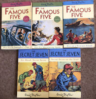 Enid Blyton Famous Five / Secret Seven Books X 5 Good Condition