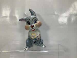 Vintage Wade Disney Porcelain Figurine 'Blow Up' Thumper 1961-5 Made in England