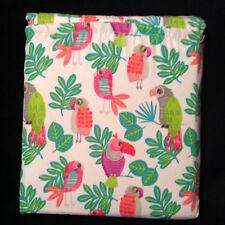 Pillowfort PARAKEET PARADISE 3pc SHEET Set Sheets TWIN NEW TROPICAL BEACH GIRLS