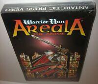 Vintage 1997 Warrior Nun Areala RARE LongBox VHS Video +Comic Ben Dunn Antarctic