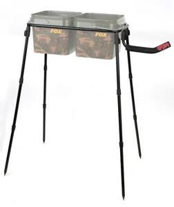 Spomb Doppel Eimer Ständer Set / Karpfenangeln