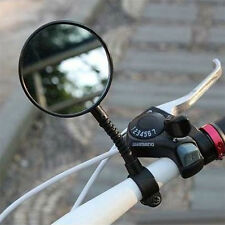 Hot Quality Bike Bicycle Handlebar Flexible Rear Back View Rearview Mirror Black