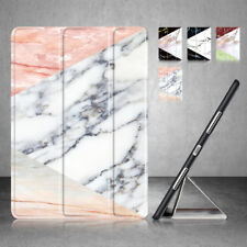 Marble Texture Leather Smart Case Cover For iPad 4 3 2 Mini Air/ Air 2 Pro 10.5