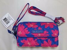 VERA BRADLEY ALL IN ONE CROSSBODY for iPhone 6+ or iPhone 7 - Art Poppies - New