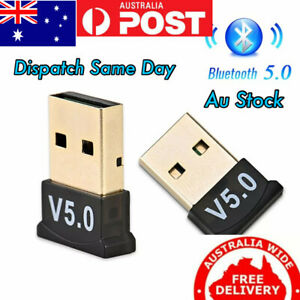 Wireless Mini USB Bluetooth Dongle V5.0 For PC Tablets Computer Laptops
