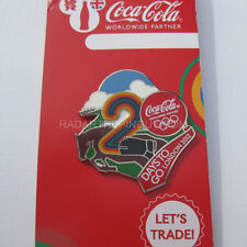 2012 London Summer Olympic Coca Cola Dated 2 Days To Go Pin