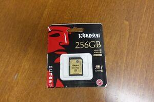 Kingston Technology 256GB SDXC Class 10 UHS-I 90 Read 45 Write Flash Card (K-1)